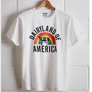 AE Tailgate Dairyland of America Wisconsin Shirt